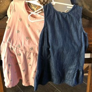 Gap Girls spring  dress lot size small and size 5